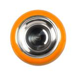 View Image 2 of The Pod Bowl Non-Slip Dog Bowl by Hing - Orange