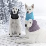 View Image 2 of Polaris Reflective Dog Snood  - Black