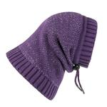 View Image 1 of Polaris Reflective Dog Snood  - Plum Purple