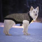 View Image 2 of Polaris Reflective Dog Sweater - Black