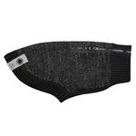 View Image 1 of Polaris Reflective Dog Sweater - Black