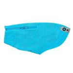 View Image 1 of Polaris Reflective Dog Sweater - Teal