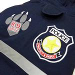 View Image 3 of Police Dog Jacket by Dogo - Navy Blue