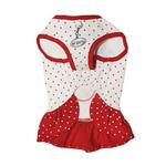 View Image 4 of Polka Dots Strawberry Dog Dress by Klippo