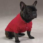 View Image 1 of Polo Dog Shirt - Tomato Red