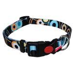View Image 1 of Pop Circle Dog Collar - Black