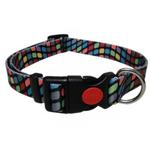 View Image 1 of Pop Square Dog Collar - Black