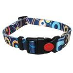 View Image 1 of Pop Circle Dog Collar - Blue