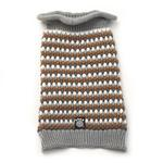 View Image 2 of Popper's Dog Sweater - Gray Multi