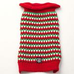 View Image 2 of Popper's Dog Sweater - Holiday Red