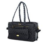 View Image 1 of Porsha Dog Carrier by Hello Doggie - Black