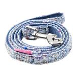 View Image 1 of Posh Dog Leash by Pinkaholic - Blue