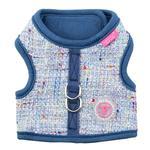 View Image 1 of Posh Pinka Dog Harness by Pinkaholic - Blue