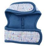 View Image 2 of Posh Pinka Dog Harness by Pinkaholic - Blue