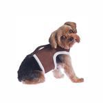 View Image 1 of Power Reversible Dog Harness - Brown & Berber Fleece