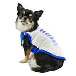 View Image 4 of Powerup Dog Tank by Puppia - Royal Blue
