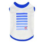 View Image 1 of Powerup Dog Tank by Puppia - Royal Blue