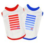 View Image 3 of Powerup Dog Tank by Puppia - Royal Blue