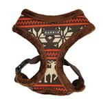 View Image 1 of Prancer Basic Style Dog Harness by Puppia - Brown