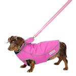 View Image 5 of Precision Fit Dog Parka - Pink