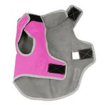 View Image 3 of Precision Fit Dog Parka - Pink
