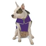 View Image 2 of Precision Fit Dog Parka - Purple