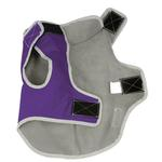 View Image 4 of Precision Fit Dog Parka - Purple