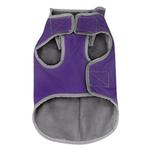 View Image 5 of Precision Fit Dog Parka - Purple