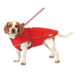 View Image 5 of Precision Fit Dog Parka - Red