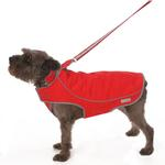 View Image 4 of Precision Fit Dog Parka - Red