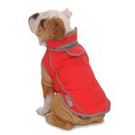 View Image 3 of Precision Fit Dog Parka - Red