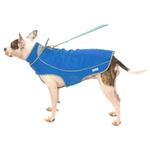 View Image 4 of Precision Fit Dog Parka - Royal Blue