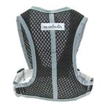 View Image 1 of Precision Sport Mesh Dog Harness - Black