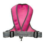 View Image 2 of Precision Sport Mesh Dog Harness - Hot Pink