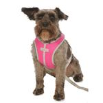 View Image 4 of Precision Sport Mesh Dog Harness - Hot Pink