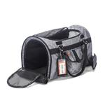 View Image 4 of Prefer Pets Hideaway Duffel Dog Carrier - Silver Deluxe