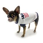View Image 2 of Patriotic Dog Sweater By Oscar Newman