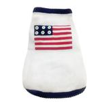 View Image 1 of Patriotic Dog Sweater By Oscar Newman
