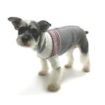 View Image 2 of Prep School Jacquard Dog Sweater By Oscar Newman
