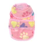 View Image 3 of Pretty Paws Fleece Dog Jacket by Cha-Cha Couture