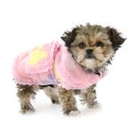 View Image 1 of Pretty Paws Fleece Dog Jacket by Cha-Cha Couture