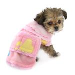 View Image 2 of Pretty Paws Fleece Dog Jacket by Cha-Cha Couture