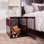 View Image 4 of Primetime Petz End Table Dog Crate - Walnut