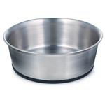 View Image 1 of ProSelect Stainless Steel Dog Bowl with Rubber Base