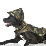 View Image 3 of Puddle Jumper Dog Raincoat - Woodland Camo