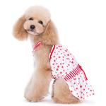 View Image 3 of PuppyPAWer Bubble Dog Sun Dress by Dogo - Red