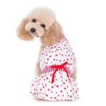 View Image 2 of PuppyPAWer Bubble Dog Sun Dress by Dogo - Red