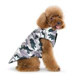 View Image 2 of PuppyPAWer Camo Sports Dog Coat by Dogo - Gray