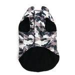 View Image 3 of PuppyPAWer Camo Sports Dog Coat by Dogo - Gray