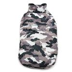 View Image 1 of PuppyPAWer Camo Sports Dog Coat by Dogo - Gray